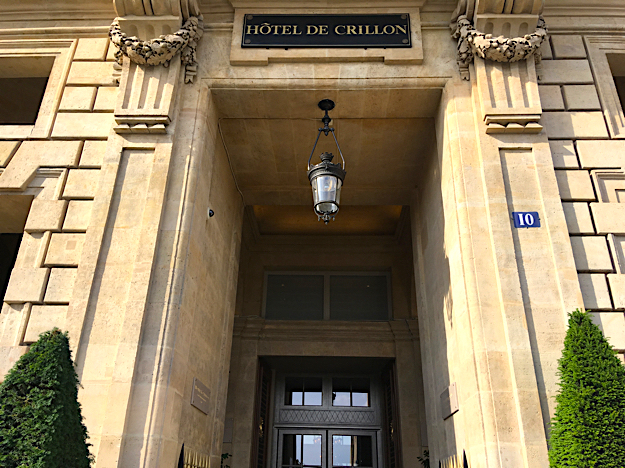 chef hotel de crillon