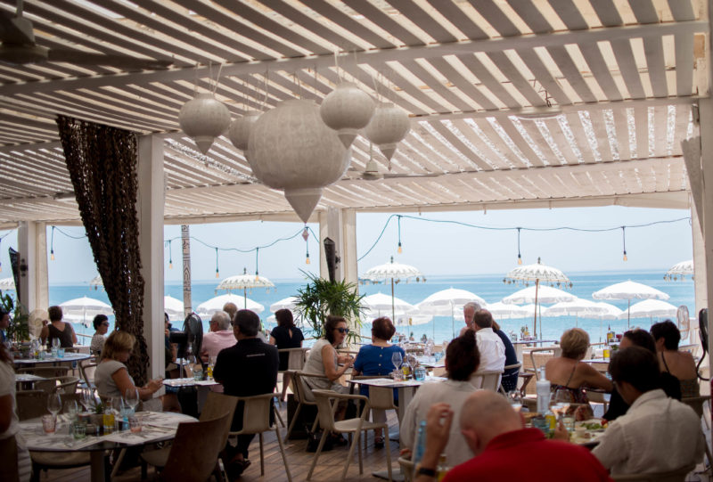 restaurant paillote carre mer