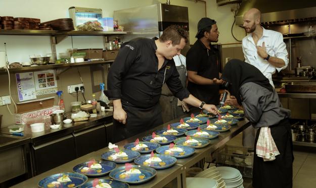 menu chef Mickaël Farina