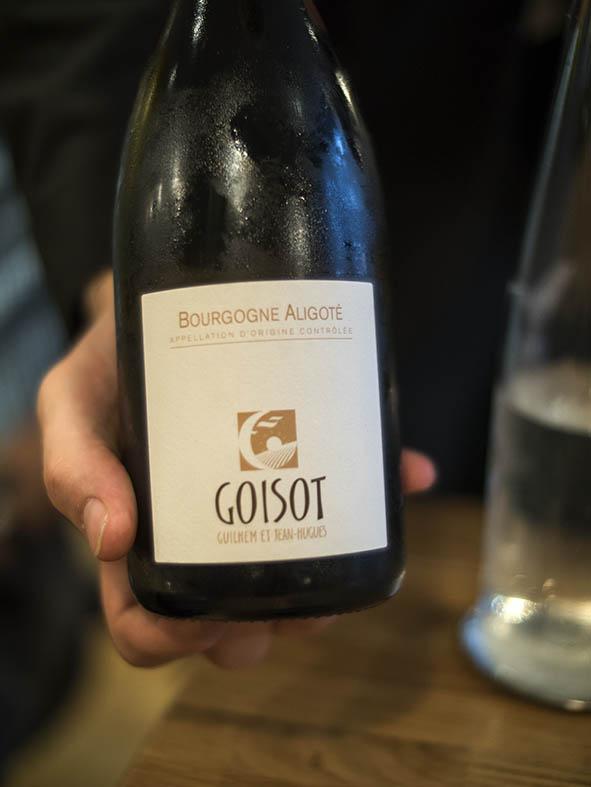 carte des vins la condesa roìa paris