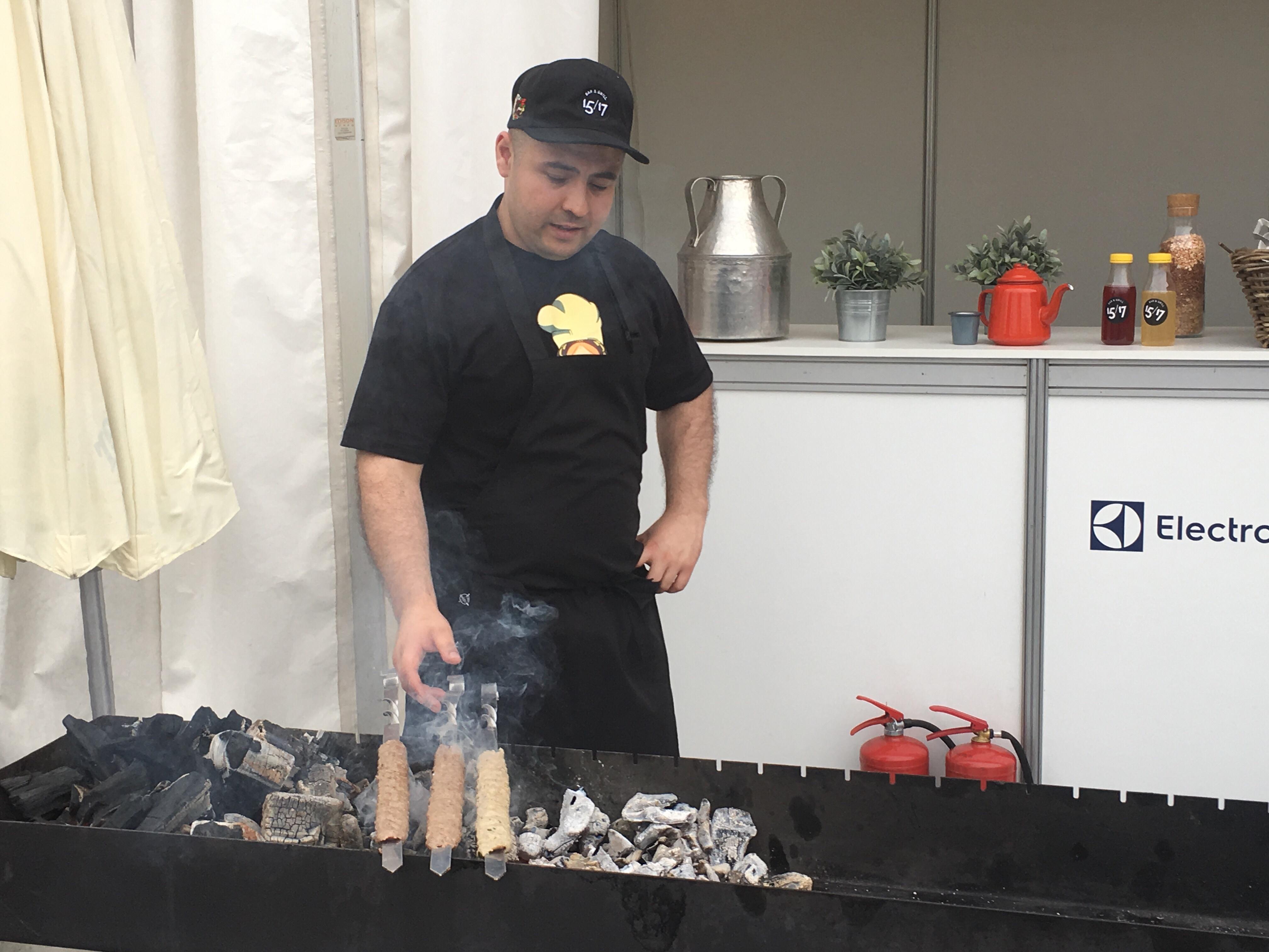 shashlik grill russie