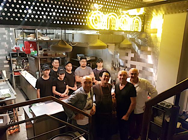 menu restaurant ănăn à Saigon