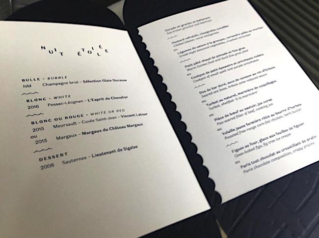 menu ducasse sur seine