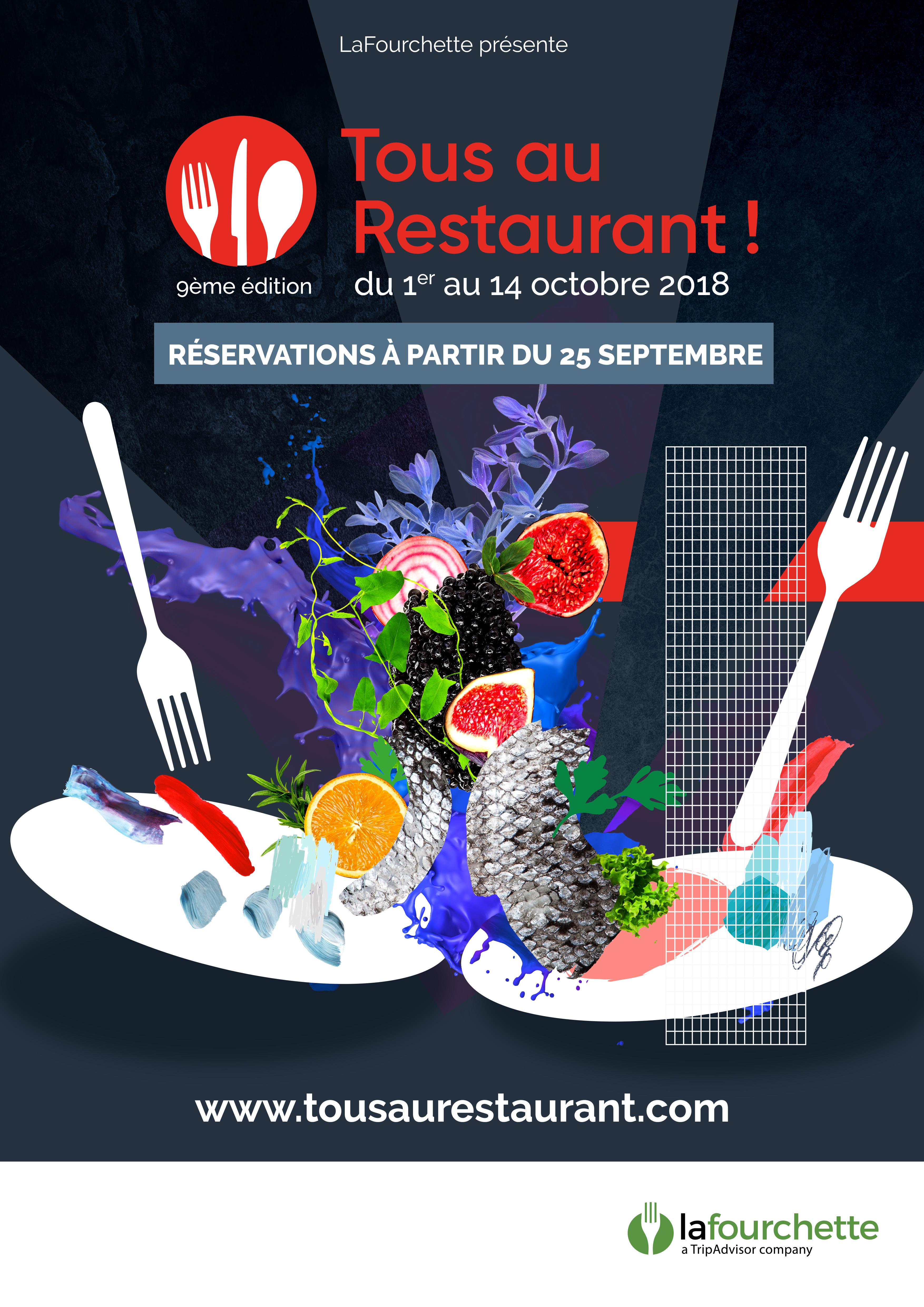 Tous Au Restaurant 2018