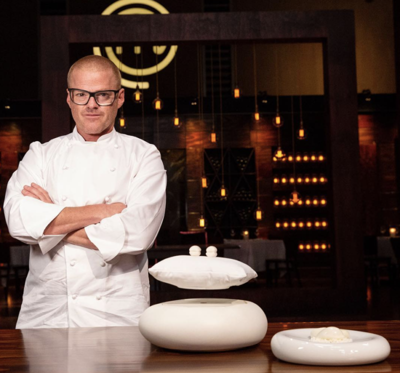 Heston Blumenthal masterchef