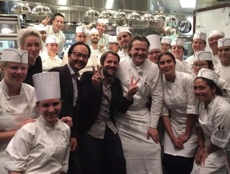 equipe de cuisine grand restaurant
