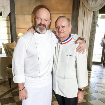 Philippe Etchebest et Joel robuchon