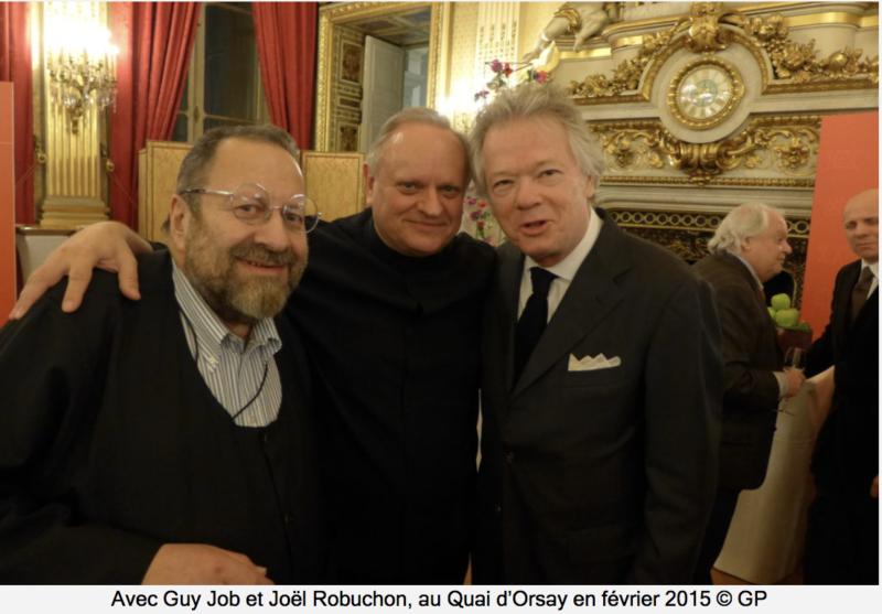 Gilles Pudlowski lettre à Joël Robuchon