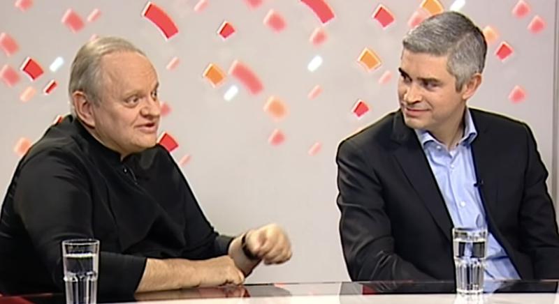Joël Robuchon et Benoît Viollier