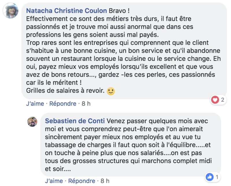 thierry marx propos salaire metier chefs