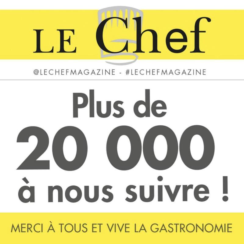 fans magazine le chef