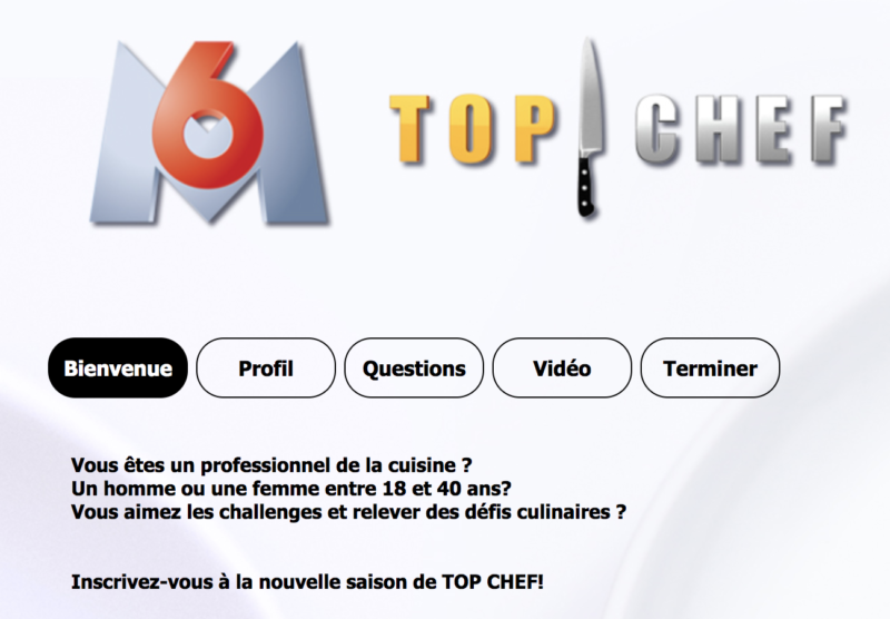 inscription top chef 2019