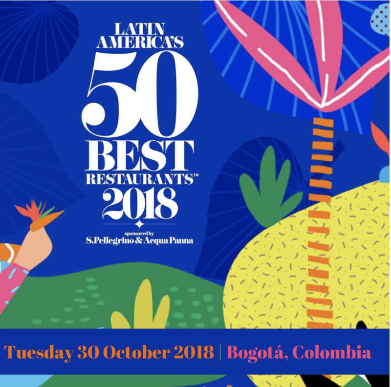 Latin America's 50Best restaurants 2018