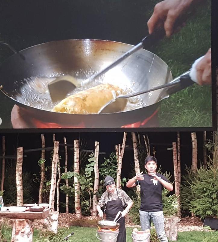 omelette au crabe jay fai