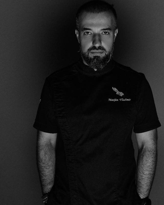 chef Vladimir Mukhin