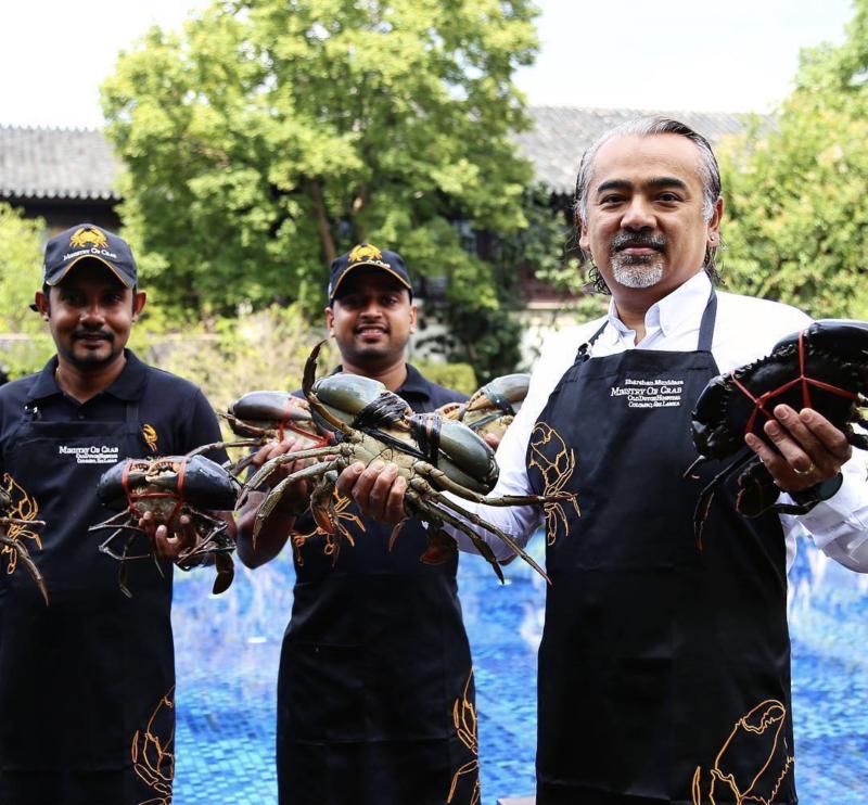chef Dharshan Munidasa