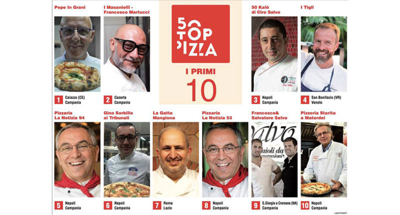 50 top pizzas 2018