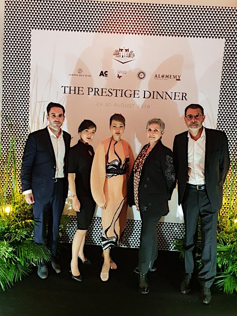 the prestige dinner