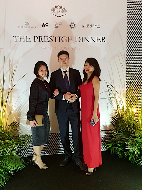 evenement  the prestige dinner