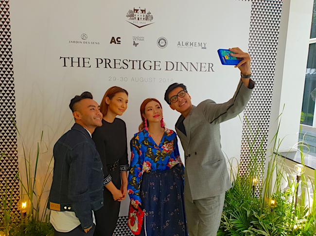 prestige dinner