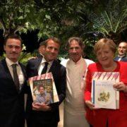 Gérald Passédat cuisine pour Angela Merkel et Emmanuel Macron au Sommet Européen sur la Méditerranée à Marseille
