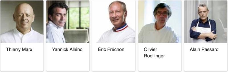 chefs gastronomiques connus