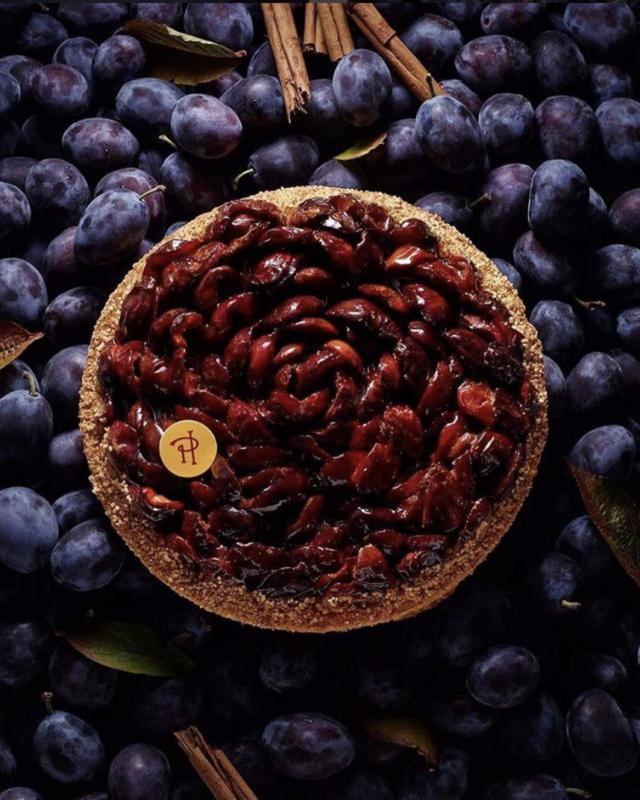 tarte prune pierre herme