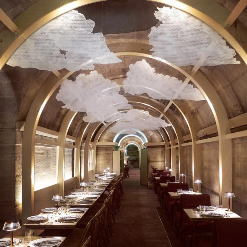 restaurant reffetorio paris madeleine demunis