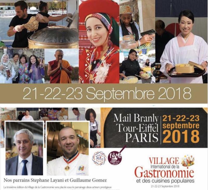 village gastronomie cuisine populaire paris