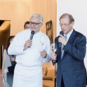 Beige le restaurant de la marque Chanel à Tokyo signé Alain Ducasse change son décor
