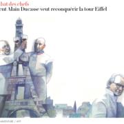 Gastro-Business – le magazine Vanity Fair a enquêté sur la prise de possession des restaurants de la Tour Eiffel par les chefs Marx et Anton