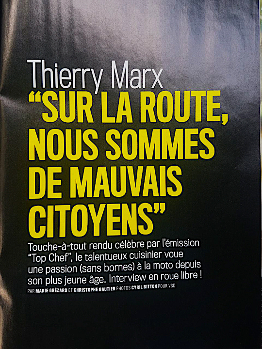 thierry marx conduite