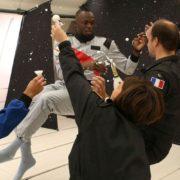 Gros coup de pub pour le Champagne Mumm – Usain Bolt savoure du Champagne en apesanteur