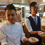 Vicky Cheng – le jeune chef impressionne Hong Kong avec sa table VEA