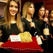 F&S a pu assister en direct à la fameuse vente aux enchère de truffes blanches d'Alba qui a battu encore des records