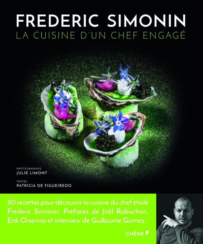 livre recettes frederic simonin
