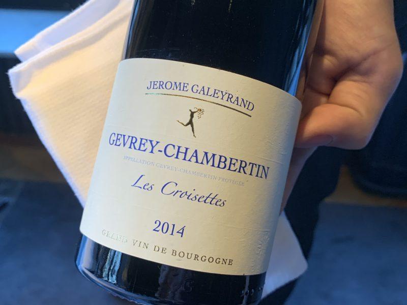 vin gevrey chambertin