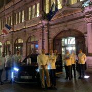 Les Étoilés d'Alsace accueillent la team France du Bocuse d'or à Strasbourg pour leur dernier diner de soutien avant la grande finale de Lyon