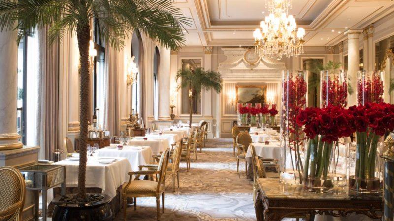 restaurant le cinq george V paris