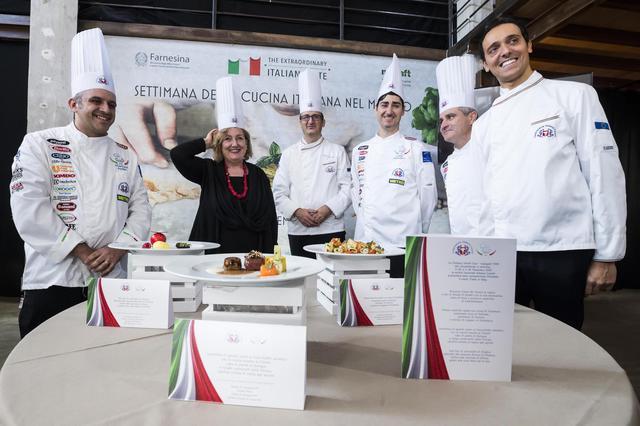 semaine cuisine italienne dans le monde