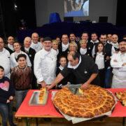 En ce mois de décembre Michel Trama réunit ses » Bouffons de la Cuisine » pour des repas solidaires partout en France