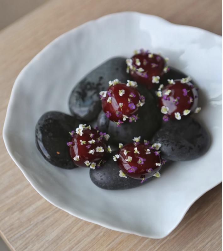 geranium restaurant plat