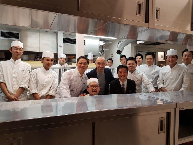 chef Hiramatsu equipe