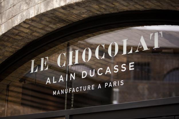 chocolat alain ducasse londre