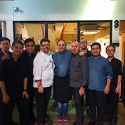 Des chefs et des étoiles pour fêter les 1 an du restaurant Lerouy à Singapour – Bruno Ménard et Jacques Pourcel en cuisine