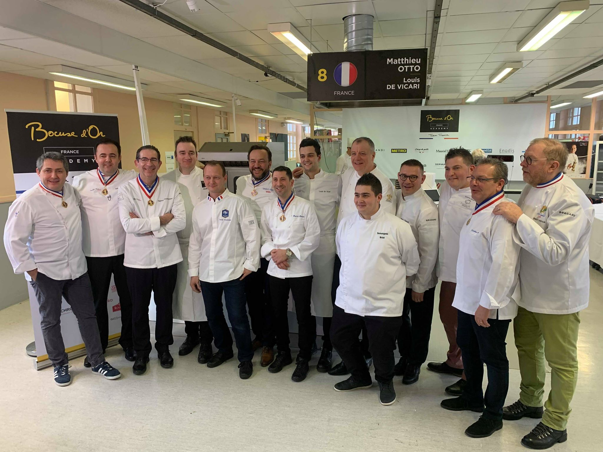 bocuse or 2019 team france