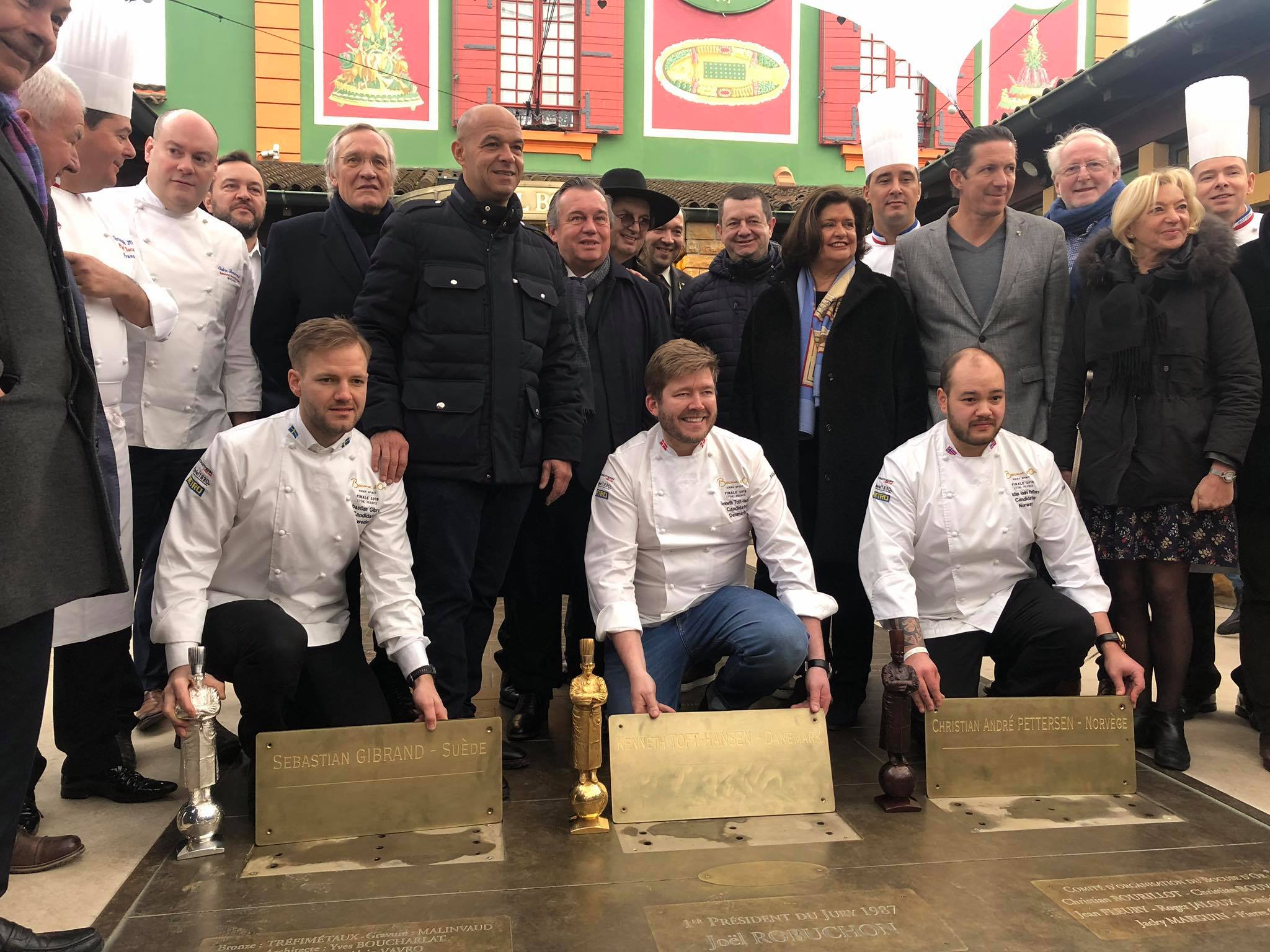 plaque officielle bocuse