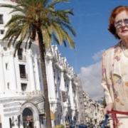 Jeanne Augier l'emblématique propriétaire du Négresco à Nice s'est éteinte cette nuit