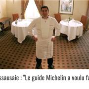Le chef MOF Guy Lassausaie – » Michelin privilégie les restaurants avec un seul menu, avec peu de couverts «
