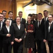 Sarah Benahmed a su redonner vie au Crocodile à Strasbourg, le Guide Michelin l'honore du Prix Michelin 2019 de l'accueil et du service